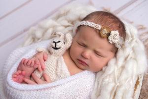 újszülött fotó nyuszi