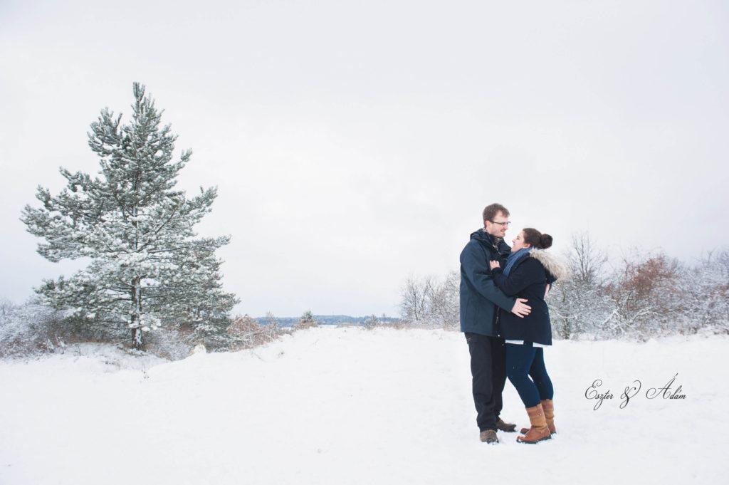 Téli jegyes fotózás